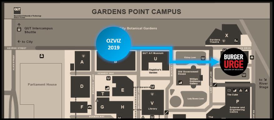 qut gp campus map Ozviz 2019 At Qut Ozviz Workshops qut gp campus map