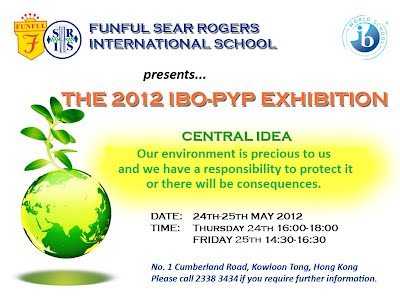 Exhibition Invitation - Funful Sear Rogers International School