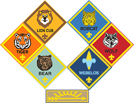Cub Scout patches