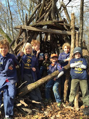 Scouts at camp