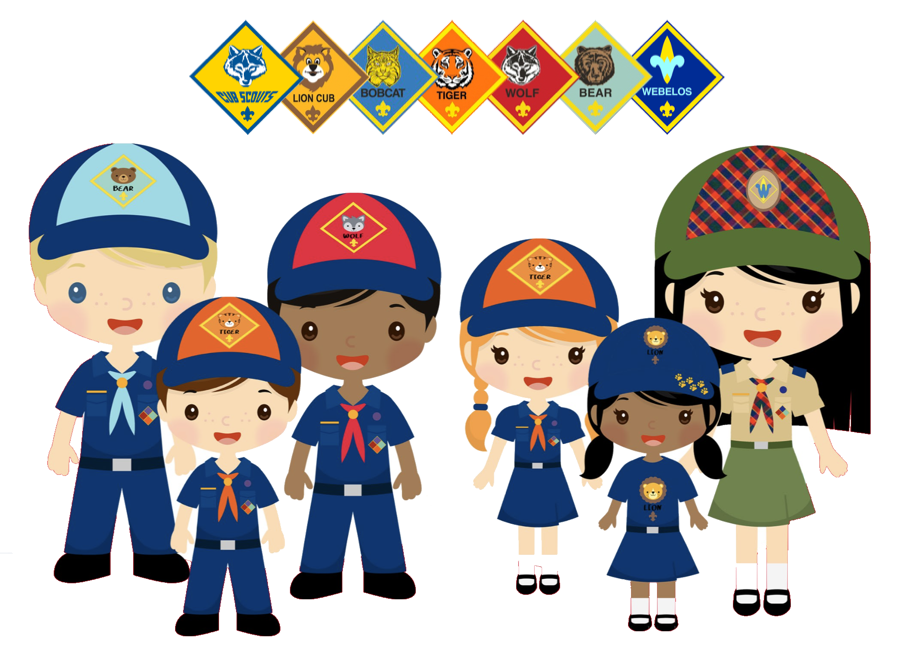 Image result for cub scout girl cartoon