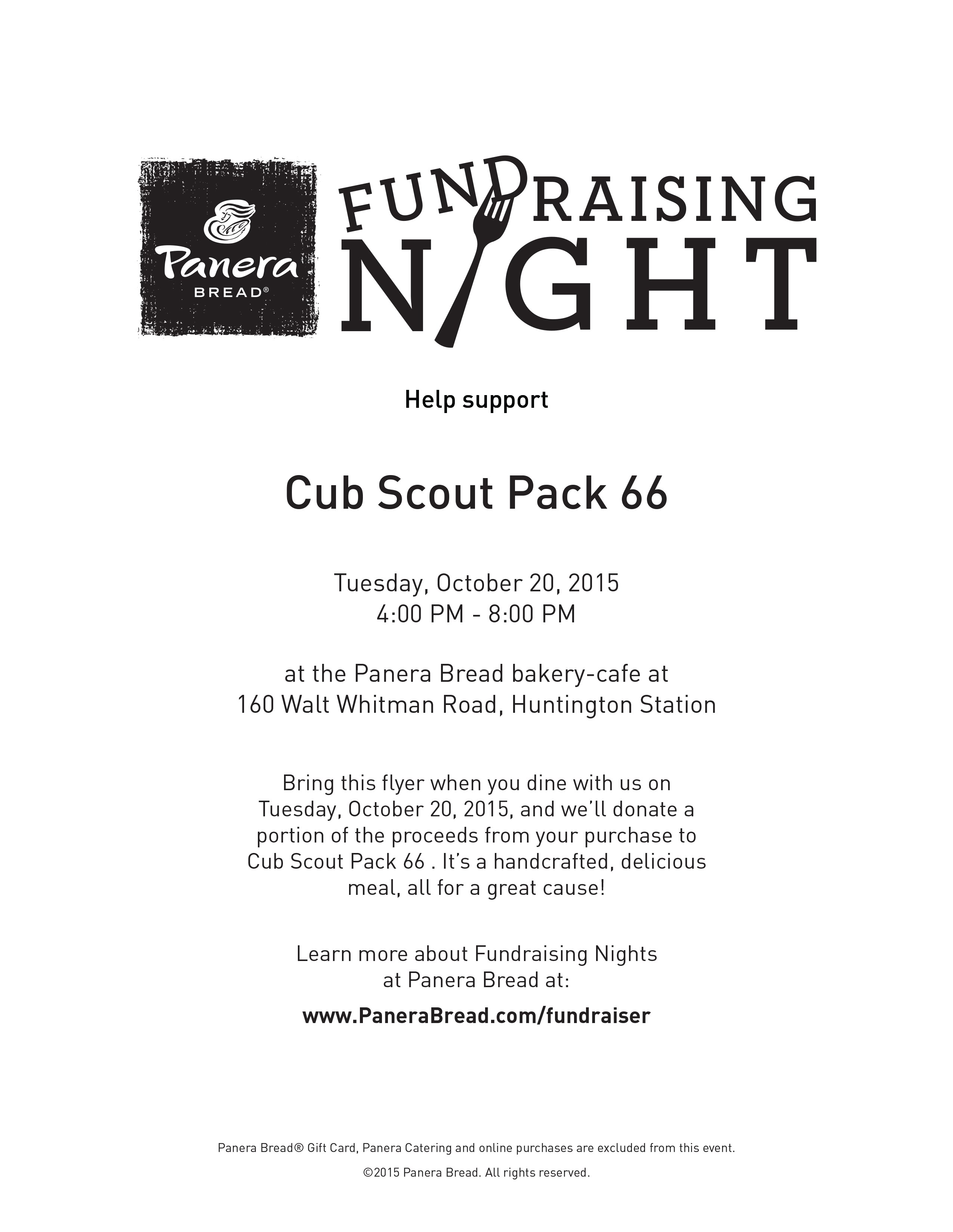 Pack News - Cub Scout Pack 66 South Huntington, NY