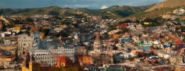 Guanajuato, using the Van Gogh effect by Lara Ruffolo