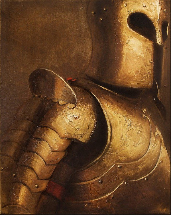 painting of armor