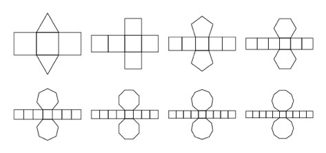 how to draw a octagonal prism