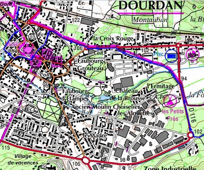 B massy dourdan 46 km paris mont saint michel et paris bretagne v lo - Office du tourisme dourdan ...