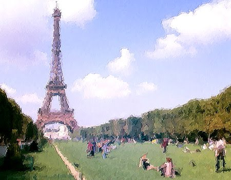 painting like pictures from paris france