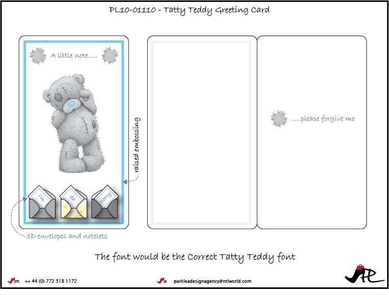 Tatty teddy greeting card designs for carte blanche park lea comments m4hsunfo