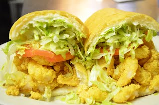Freid Shrimp Po-Boy