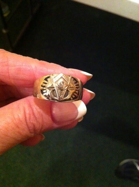 James Avery Wedding Ring 68 Beautiful KT gold Mason us