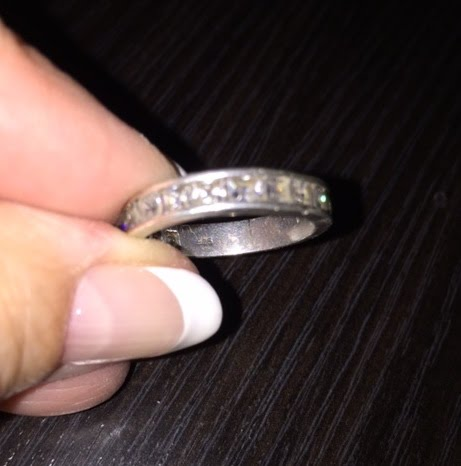 James Avery Wedding Ring 4 Nice  and CZs ring