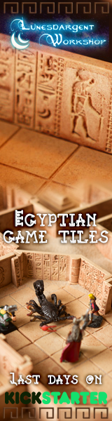 Egyptian game tiles now live on Kickstarter