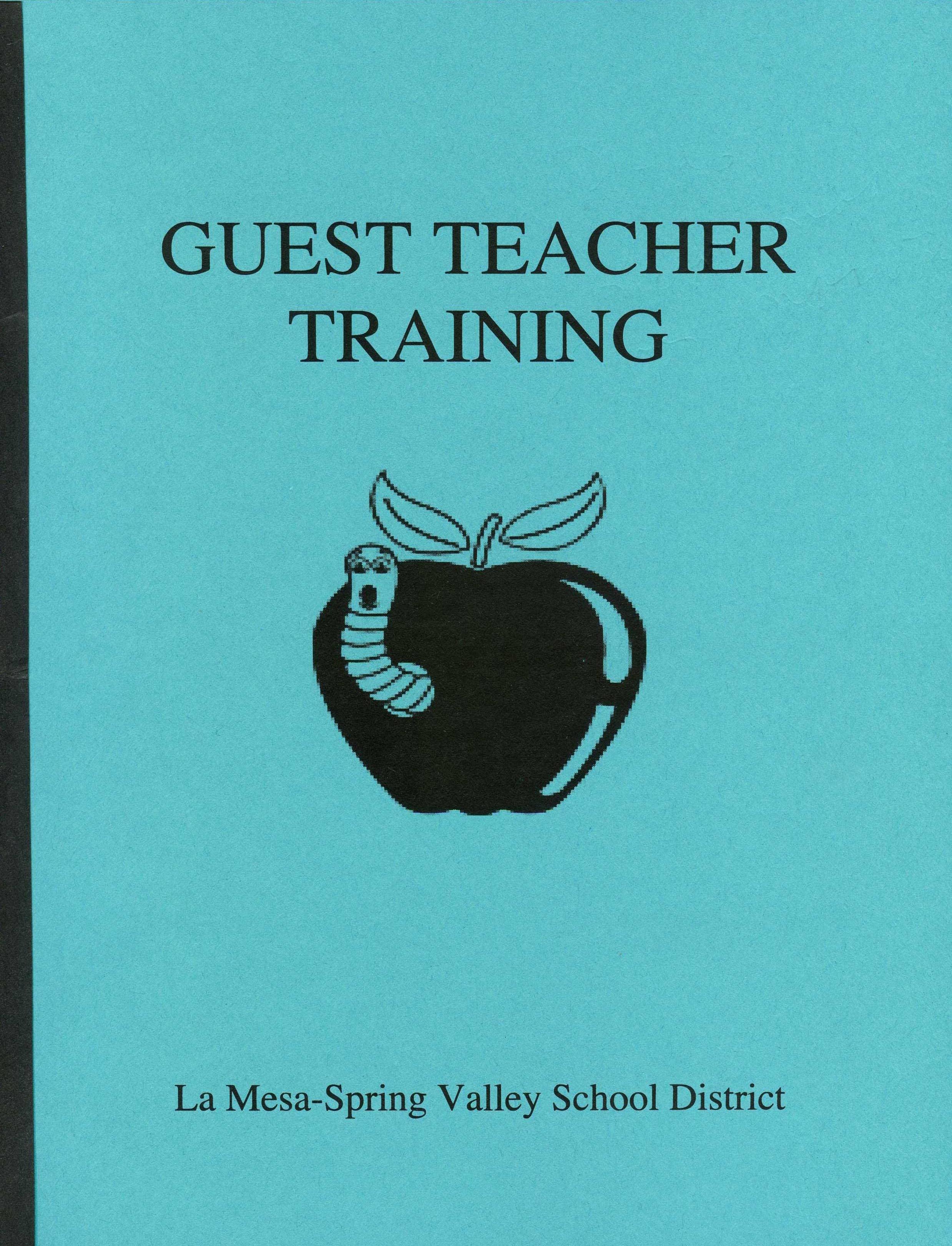 Multiple School Districts Substitute Teacher Resume