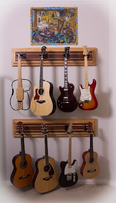 Music Room - Guitar Wall