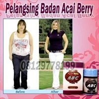 ABC Acai Berry Slimming Softgel (Pelangsing Badan)