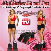 Air Climber Fit and Fun ( Alat Olahraga Pembakar lemak)