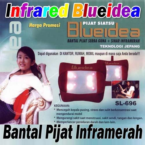 Bantal Pijat Infrared Blueidea