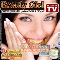 BEAUTY GIRL (Cream Pemutih Lipatan Kulit & Wajah)