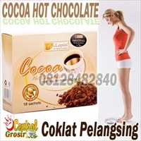 Cocoa Hot Chocolate (Coklat Pelangsing)