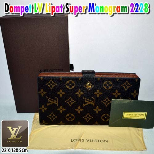 Dompet LV Super Monogram 2228