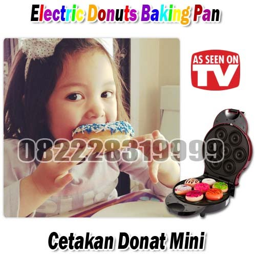Electric Donuts Baking Pan (Cetakan Donat Mini)