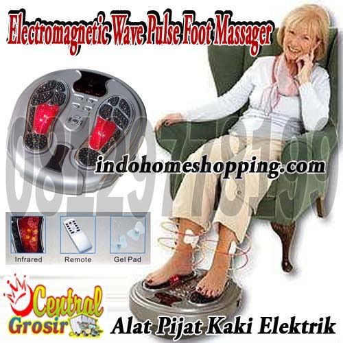 Electromagnetic Wave Pulse Foot Massager (Alat Pijat Kaki Elektrik)