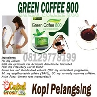 Green Coffee 800 (Kopi Pelangsing)