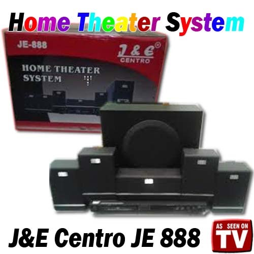 Home Theater System J&E Centro JE 888