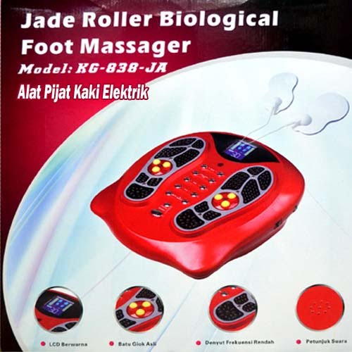 Jade Roller Biological Foot Massager (Alat Pijat Kaki Elektrik)