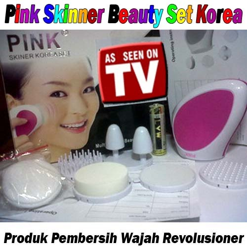 Pink Skinner Beauty Set Korea