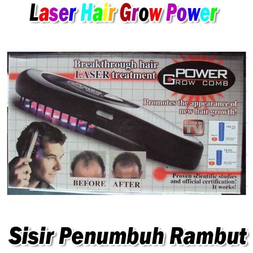 Laser Hair Grow Power (Sisir Penumbuh Rambut)