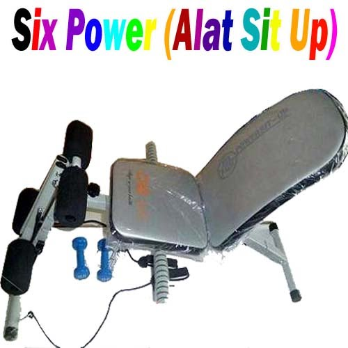 Six Power (Alat Sit Up&Pelangsing Badan)