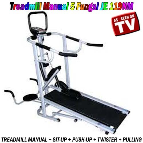 TREADMILL MANUAL 5 FUNGSI