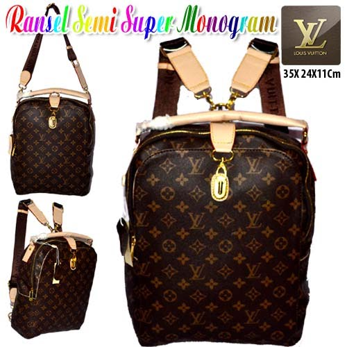 Tas Louis Vuitton Ransel Semi Super Monogram