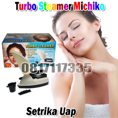 Turbo Steamer Michiko (Setrika Uap & Steamer Wajah)
