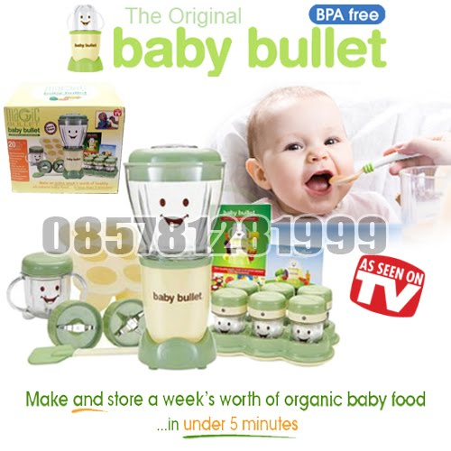 Baby Bullet Food Processor (Blender Makanan Bayi)