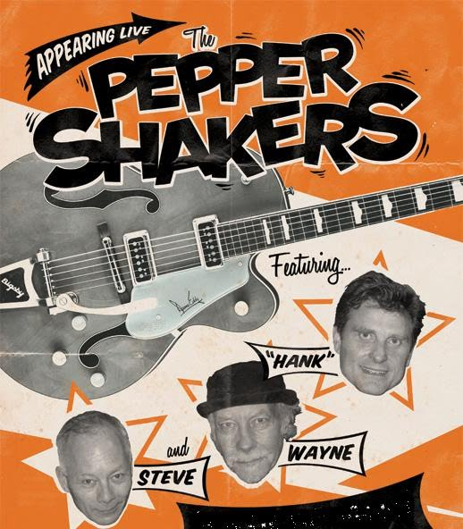the toronto party band for hire is the pepper shakers