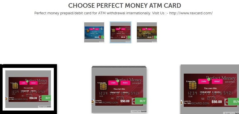 GET PERFECT MONEY ATM CARD - Perfect Money ATM Card