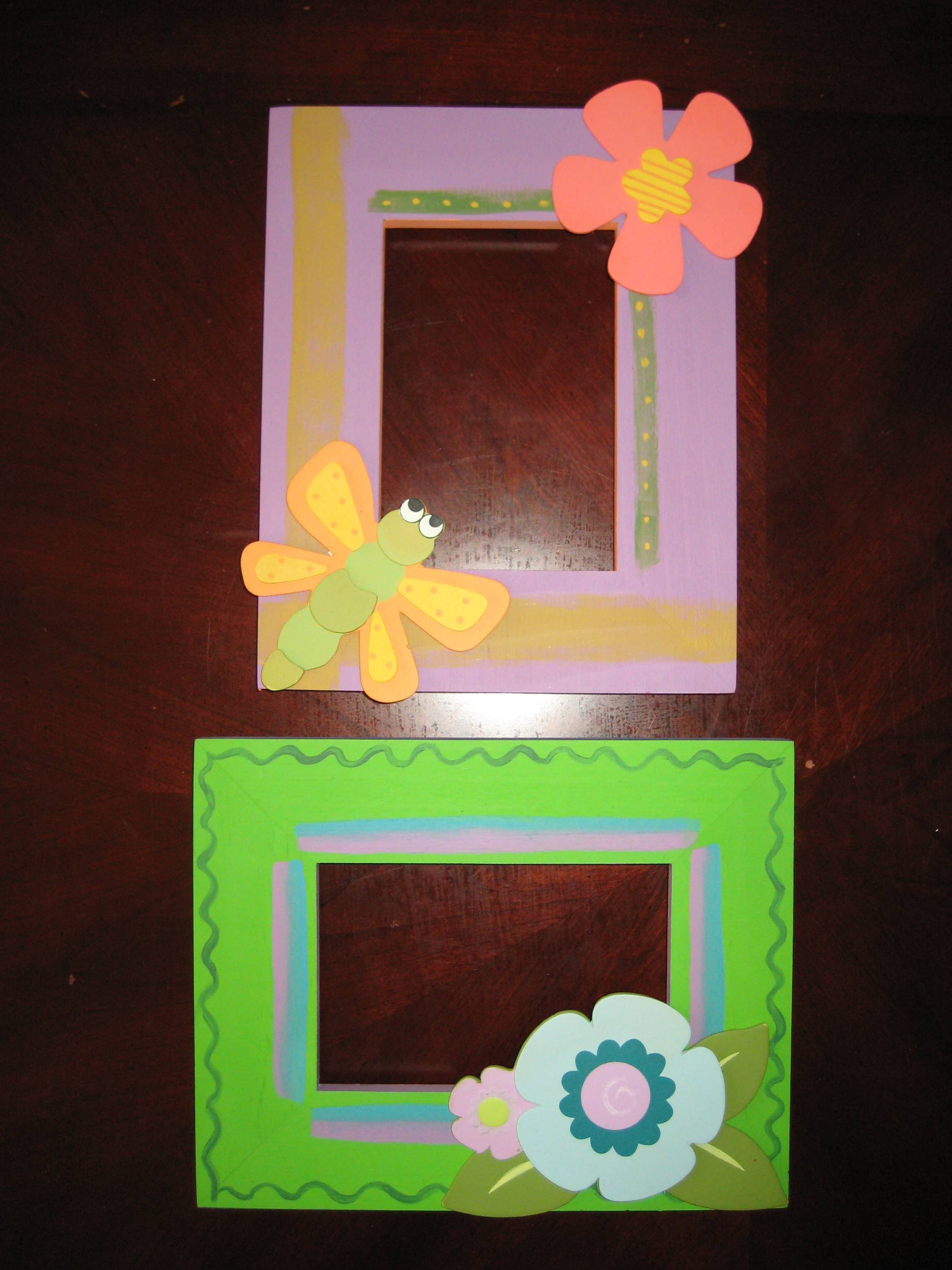 Hand Painted Frames Personalized