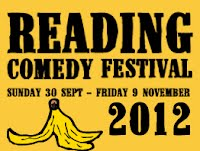 Winner of The Reading Comedy Festival New Act of The Year 2012