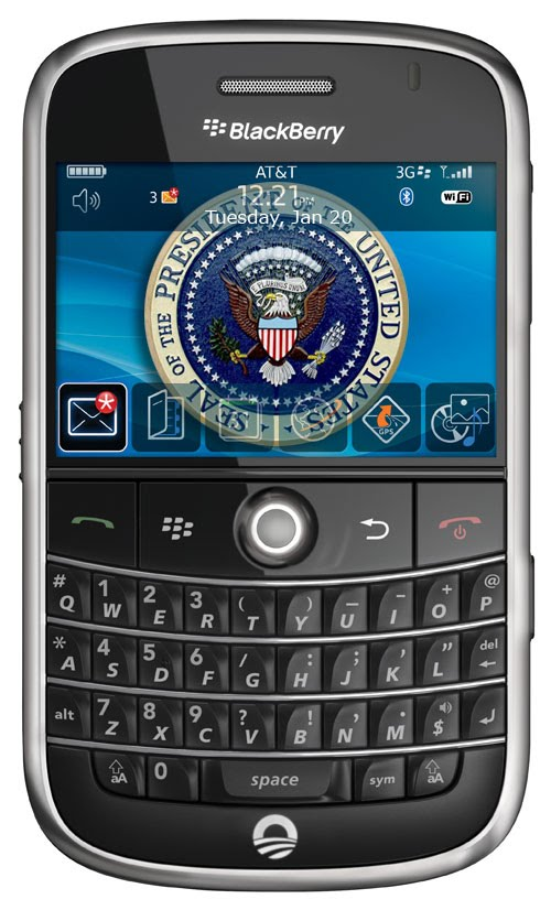 President Obama's Blackberry