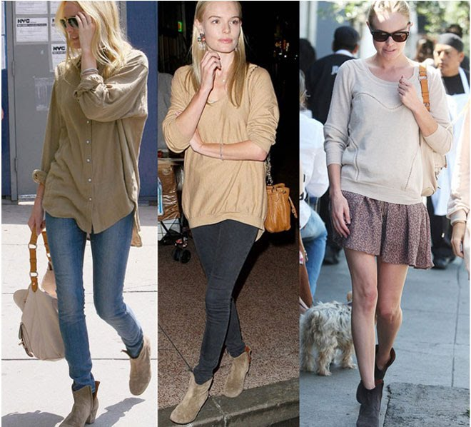 kate bosworth open showed ware isabel marant suede boots in paparazzi photos