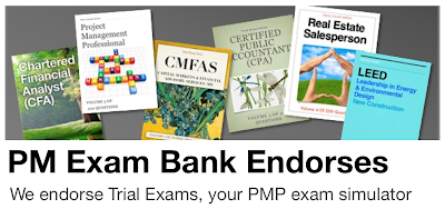 PMP Exam Bank endorses Trial Exams
