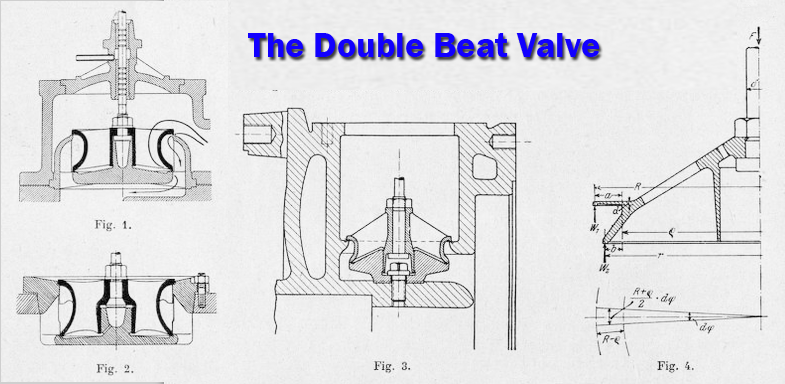 double beat valves are usually leaky  the leakiness increases with the  amount of balance, the pressure, and the temperature