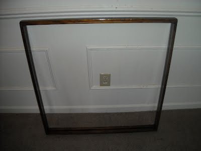 large size double sided frame 30 34 30 12 hand made out of oak stained with provifical 15000 depending on stylesize and stain finish for price plus 2 - Double Sided Glass Frame