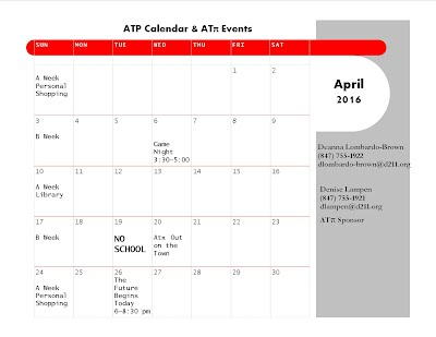 Atp Calendar.Atp Calendar Phs Adult Transition Program