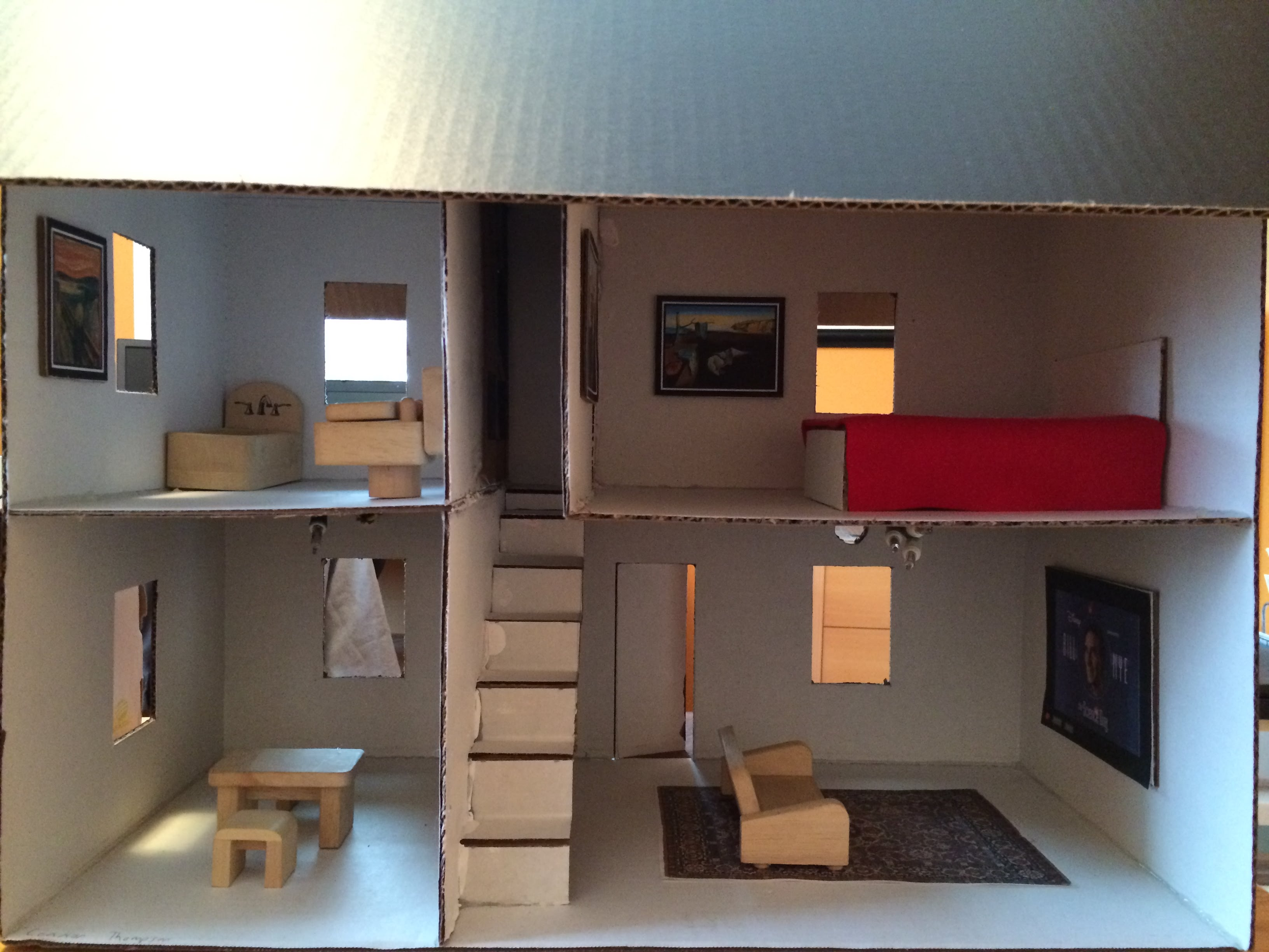 Physics electric house project