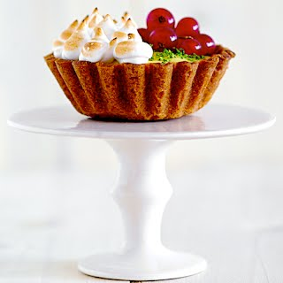 Lime Curd Tartlets with Raspberries and Red Currents