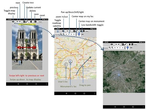 App inventor and scratch tutorials pierre huguet this application displays monuments or points of interest with their location on a map or satellite image which can be zoomed and panned interactively gumiabroncs Choice Image