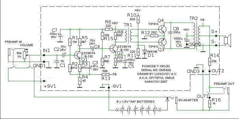pignose amp wiring diagram   26 wiring diagram images